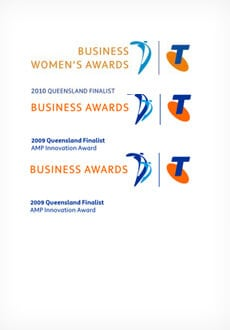 Business Womens Awards 2009 and 2010
