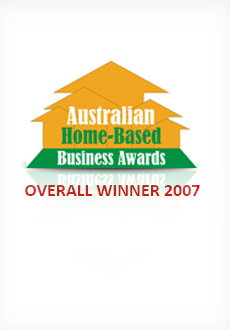 Home Based Business Awards 2007 Winner