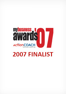 MyBusiness Awards 2007 Finalist