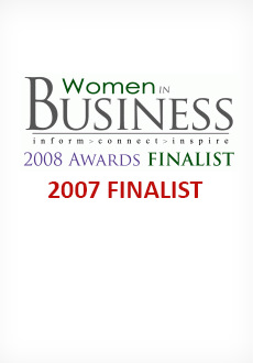 Women in Business 2007 and 2008 Finalist