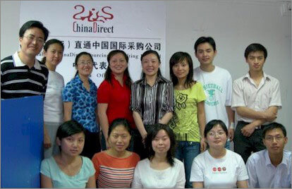 Our friendly China team in Guiyang, Guizhou Province, China