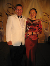 Lindy Chen with Rob Messenger MP