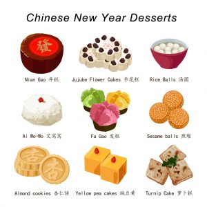 Chinese New Year Desserts